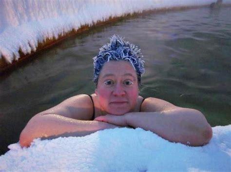 frozen hair hot springs frozen hair contest canada s crazy frozen hair contest