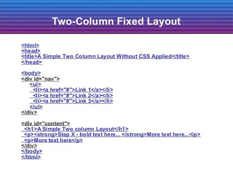 fixed layout definition make css easy part 2 easy tips for css part 2