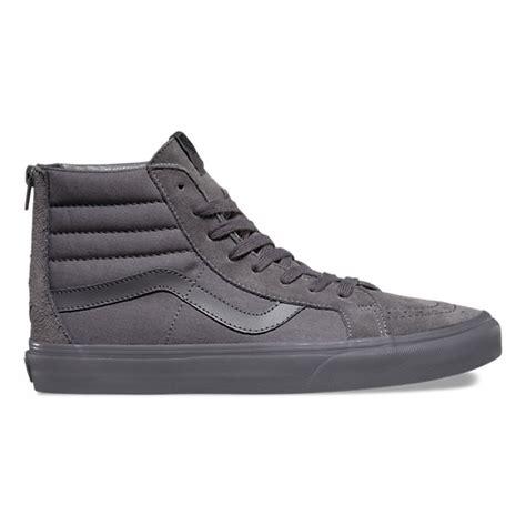 Zipper Vans 4 mono sk8 hi reissue zip shop shoes at vans
