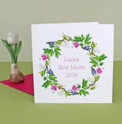 best mothers day cards personalised mothers day card best mum 2017 by the botanical concept notonthehighstreet com