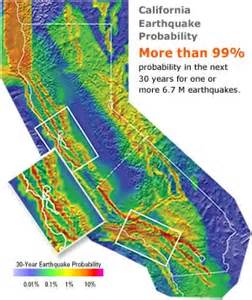 california earthquake probability map 7 memories of the future the uncertain of earthquake