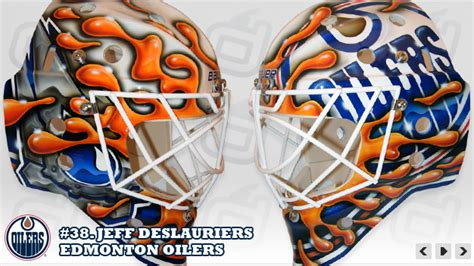goalie mask painting template hockey mask c a p s