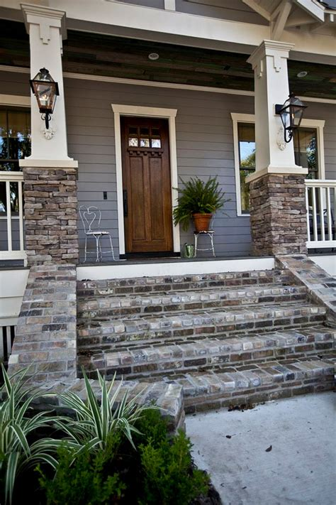 Brick Front Porch Steps Interior Design Ideas Home Bunch Interior Design Ideas
