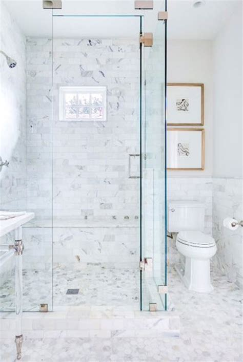 white marble tile bathroom 29 white marble bathroom floor tile ideas and pictures