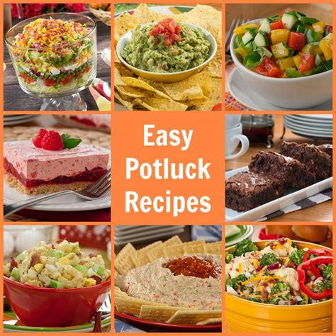 popular potluck dishes easy potluck recipes 58 potluck ideas mrfood