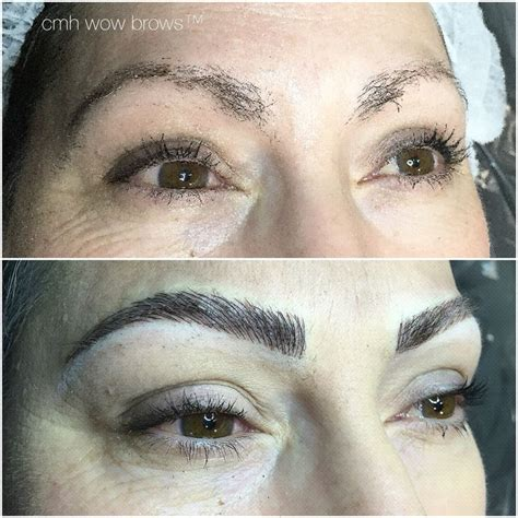 tattoo eyebrows that look like hair natural eyebrow tattooing hair stroke feather touch