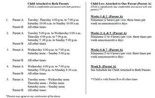 parenting plan template california best orange county parenting plan guidelines for