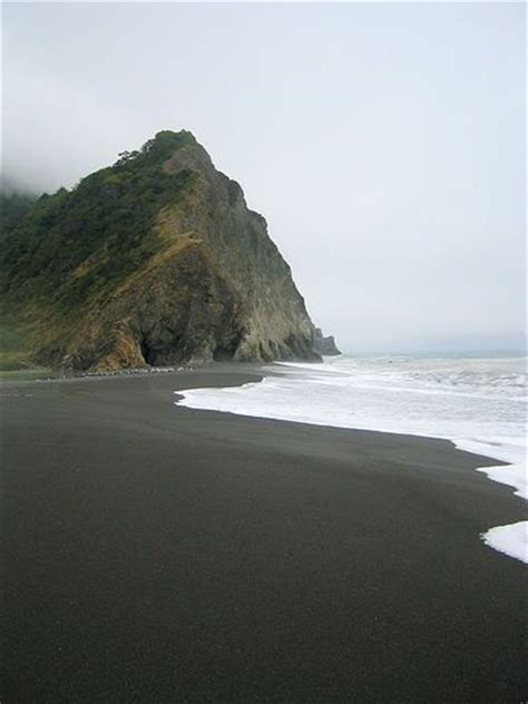 black sand beach california black sand beach sinkyone state wilderness lost coast in