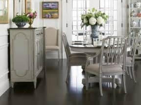 decorating around white dining table