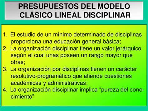 Modelo Curricular Lineal Clase 3 Teoria Metateoria Paradigma