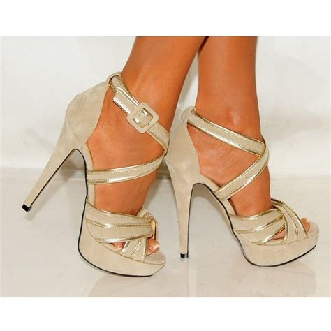 high strappy heels beige suede strappy sandals high heels