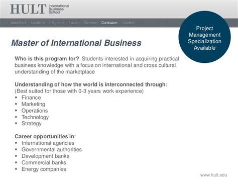 Pro Att Airway hult international business school masters overview 2012