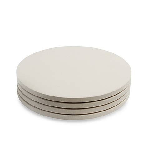 pizza stone bed bath and beyond pizzacraft round ceramic mini pizza stones set of 4