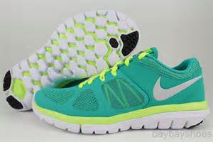 Nike Flexrun 2014 Bekas Authentic 100 nike flex 2014 run turbo green volt yellow silver white running free 2013 womens ebay