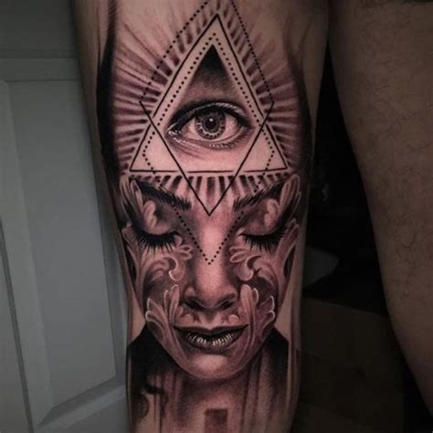 third eye tattoo meaning 5 styles for eye tattoos inked cartel