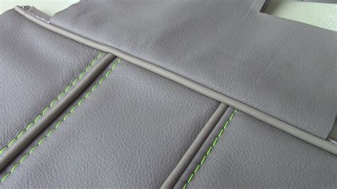 Double Piping Upholstery French Seams Amp Flat Felled Seams With Piping Tips Part 1