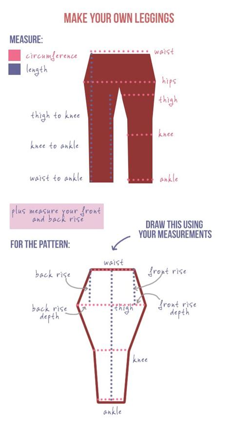 leggings pattern making make your own diy leggings sewing trousers and shorts