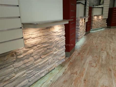 moderne wandgestaltung moderne steinwand mit der kunststeinpaneele versailles