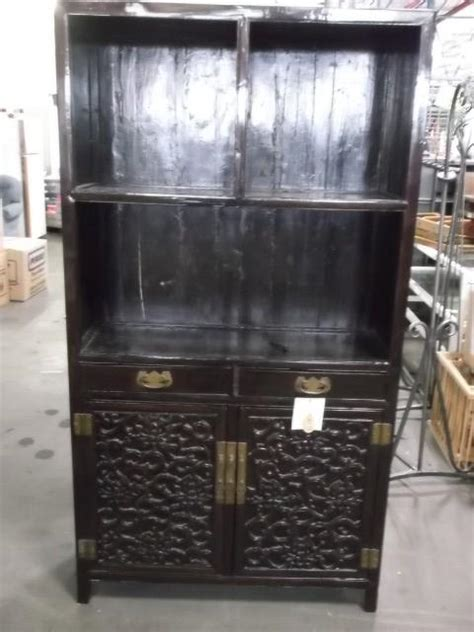Book Cabinets For Sale by Qing Dynasty Zitan Wood Book Cabinet For Sale Antiques