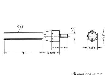 ntc thermistor k8200 rt6k8 ntc thermistor type k45 6k8 velleman wholesaler and developer of electronics
