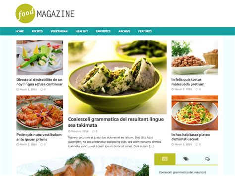 themes wordpress free food 15 best free food blog themes for wordpress for 2018