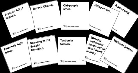 Cards Against Humanity Cards Word Template by Cards Against Humanity Review The Real