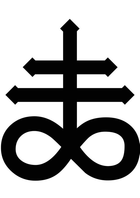 satanic cross tattoo the leviathan cross mythology is awesome