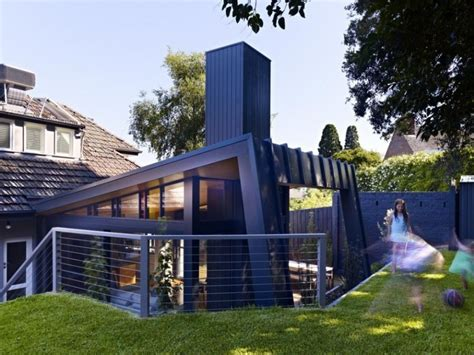 untamed geometry showcased by modern house exterior in house exterior photo