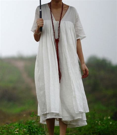 simple style dual linen dress to wear simple style linens and linen dresses