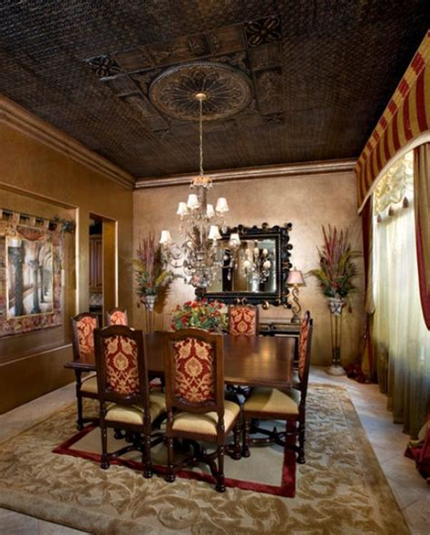 A few ways of turning a tray ceiling into a beautiful
