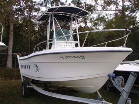 trophy boats history 1999 bayliner boats 1903 trophy for sale in beaufort nc