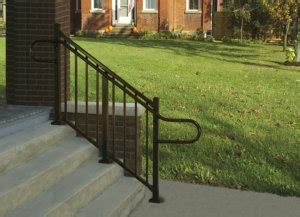 Westbury Handrail Ada Compliant Outdoor Handrails Hand Rails For Steps