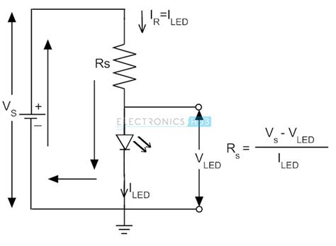 resistor led equation light emitting diode led types colors and applications