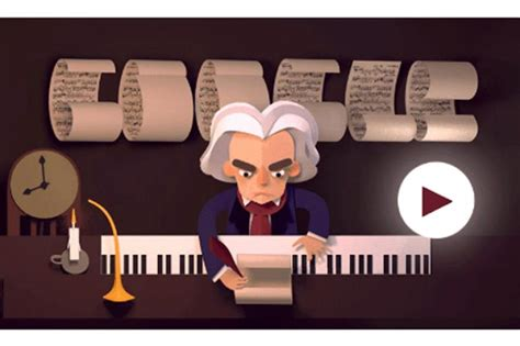 beethoven animated biography ludwig van beethoven s 245th year google doodles a