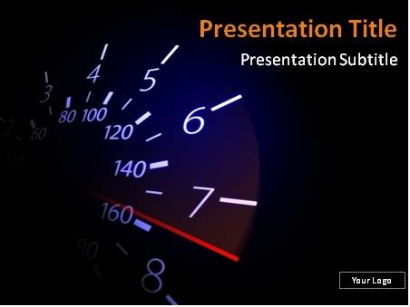powerpoint templates free download racing download free speedometer with red needle powerpoint template