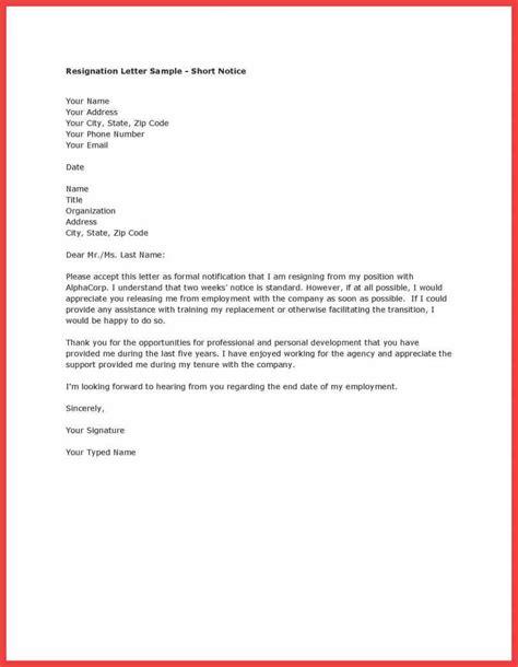 thankful resignation letter memo exle