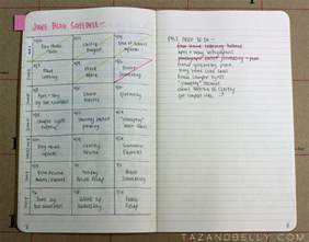 bullet journal exles how to use evernote as a bullet journal