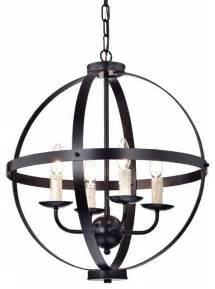 Brass Candle Chandelier 4 Light Cage Chandelier Oil Rubbed Bronze Contemporary