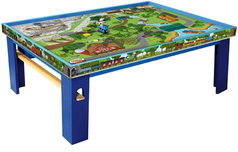 thomas the tank train table set thomas friends wooden railway island of sodor playtable