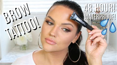 tattoo brow maybelline review boots new maybelline tattoostudio waterproof eyebrow gel review