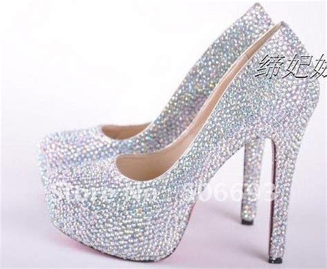 glass high heel glass high heels