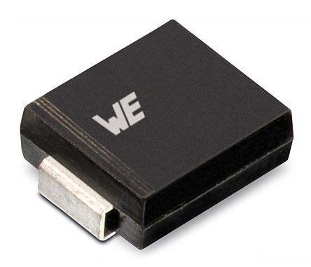 wurth tvs diode 824540261 wurth elektronik 824540261 uni directional tvs diode 1500w 2 pin do 214ab wurth