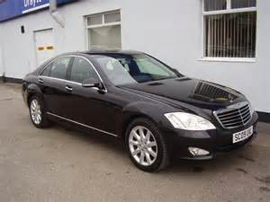 Used Mercedes S Class For Sale In Uk Used Mercedes 2009 Black Paint Diesel Class S320 Cdi