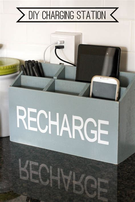 device charging station 16 charging station ideas to eliminate device clutter