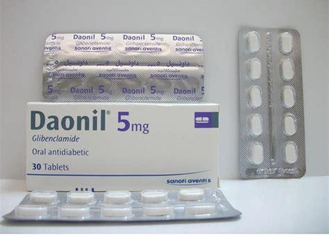 Daonil Glibenclamide daonil 5 mg 30 tab price from seif in yaoota
