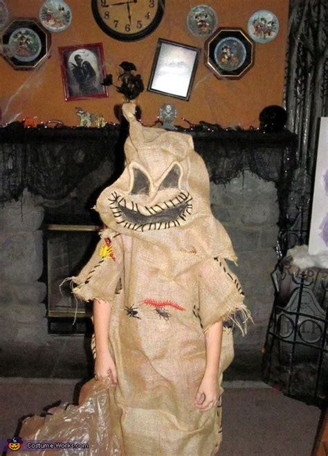 nightmare  christmas oogie boogie costume