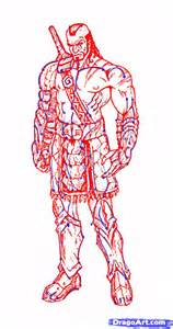 doodle how to make warrior how to draw a warrior step by step concept