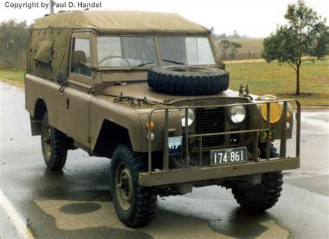 land rover part three series 2a 109 inch wheelbase