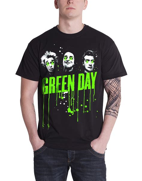 T Shirts Green Day Gdy11 green day t shirt mens revolution radio dookie welcome to