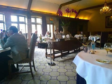 Combe Cottage Restaurant by Our Cottage Garden Picture Of The Manor House Hotel And